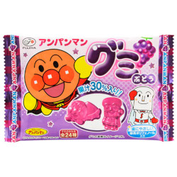 Fujiya Anpanman Gummy Grape Ta...