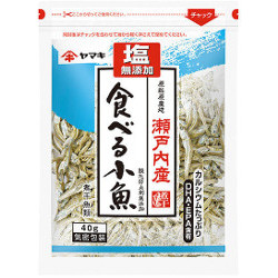 Yamaki Eatable Small Fish 40g