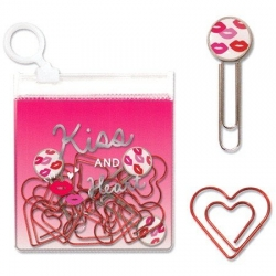 Mind Wave Paper Clips Kiss Hea...