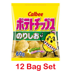 Calbee Potato Chips seaweed sa...