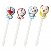 Torune Doraemon Food Picks 8 P...
